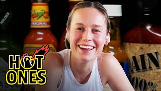 Brie Larson Takes On a New Form While Eating Spicy Wings | Hot Ones