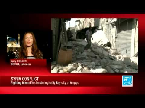 Syria conflict: Fighting intensifies in strategically key city of Aleppo