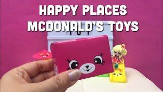 McDonald's Shopkins Happy Places Happy Meal Toys