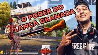 QUANDO EL GATO ENCONTRA 8 BALAS DE LANÇA GRANADA NO FREE FIRE!