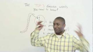 The Top 3 English words you need to know - HAVE