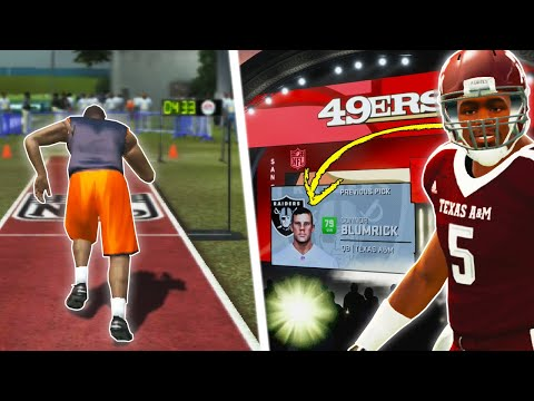 NFL Combine + The NFL Draft! | NCAA 14 Road To Glory/Madden 20 Career Ep. 7
