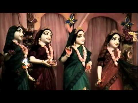 Mangala Arati Kirtan At Mayapur Candrodaya Mandir video