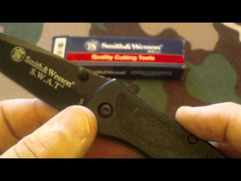 SWAT MB Knife from Smith and Wesson