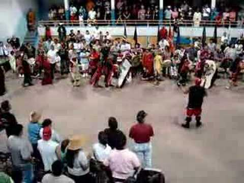 Native Dancers Entrance Dance