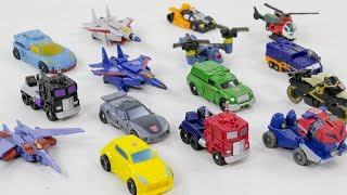 Transformers Generations Animated Mini 15 Vehicle Car Robot Toys