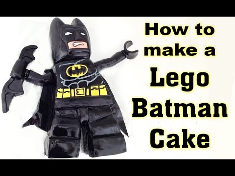 Lego Batman Movie Cake HOW TO COOK THAT