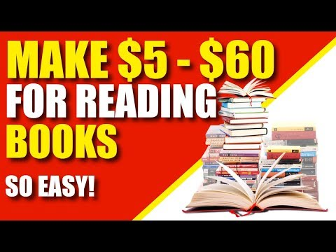 Get Paid To Read Books ($5 - $60 Per Review)