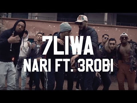 7LIWA - NARI FT. 3ROBI ( OFFICIAL MUSIC VIDEO ) | NARI