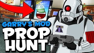 PROP HUNT HIDE AND SEEK - GARRY'S MOD FUNNY MOMENTS