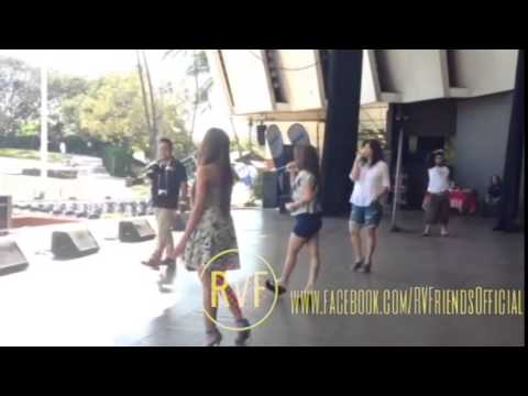 On the Wings of Love (Rehearsal) - Regine Velasquez, Sheryn Regis and Jonalyn Viray