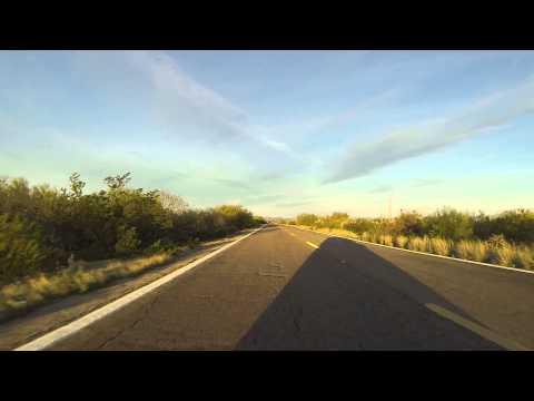 San Simon toward Gu-Achi Trading Post, Tohono O'odham Nation, Arizona, Rear View, GP020001