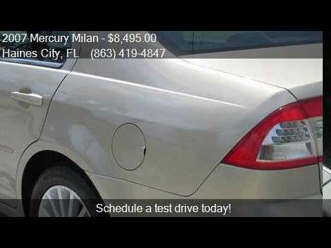 2007 Mercury Milan V6 Premier 4dr Sedan for sale in Haines C