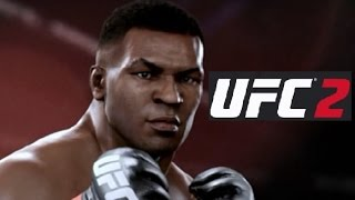 EA SPORTS UFC 2 MIKE TYSON Gameplay HD (test) knockouts mode difficulty PRO