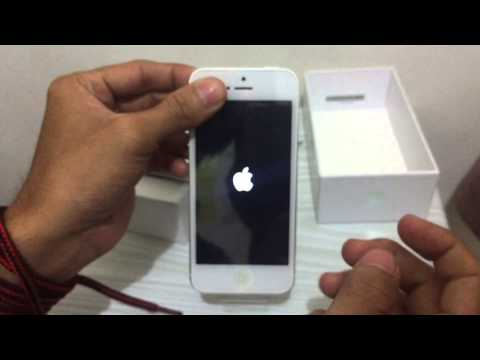 Unboxing Iphone 5 garansi Platinum Bless Bahasa Indonesia