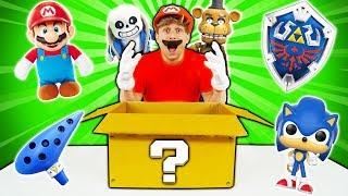 O QUE TEM NUMA CAIXA MISTERIOSA DE VIDEO GAMES ? 📦