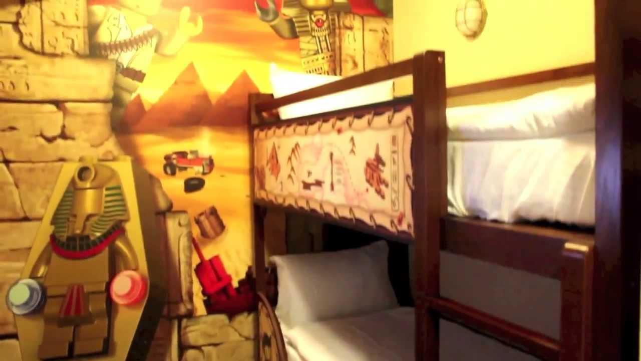 Legoland Hotel Adventure Room Tour At Legoland California