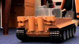 RC Panzer Tiger Heng Long Metal Version 1/16