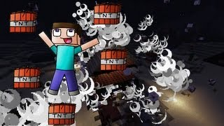 Minecraft: Exploser une maison en musique avec de la TNT !