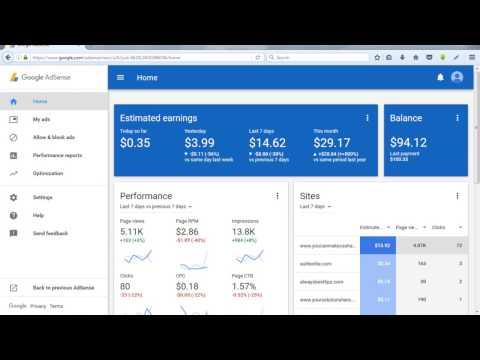 YouCanMake Cash at Home Google adSense Revenue Video Proof