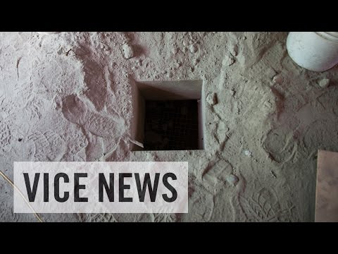 Inside El Chapo's Escape Tunnel
