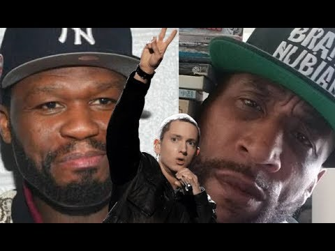 50 Cent VS Lord Jamar, 50 Cent Defends Eminem against Lord Jamar Downplaying Him