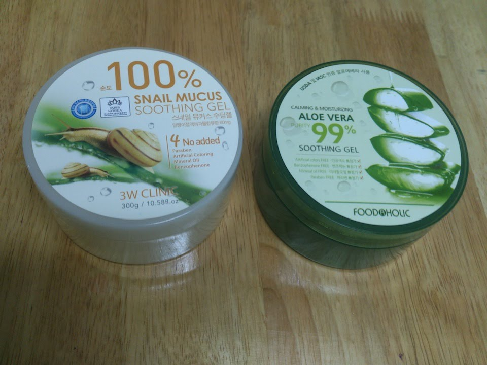 Review the Saem Snail Soothing Gel  By Rafini