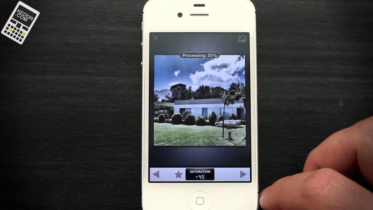 Как сделать надпись на фото в айфоне 5