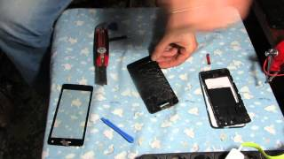 Замена тачскрина на телефоне explay fresh Replacing the touch screen on the phone explay fresh