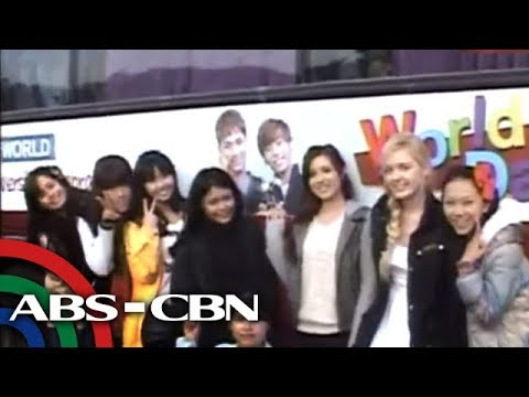 Jessy Mendiola meets K-pop stars