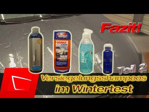 Autoshampoos mit Versiegelung Fazit- Sonax WashProtect Gyeon Bathe+ Koch Nano Magic