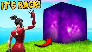 THE CUBE HAS RETURNED!! - Fortnite Funny Fails and WTF Moments! #600