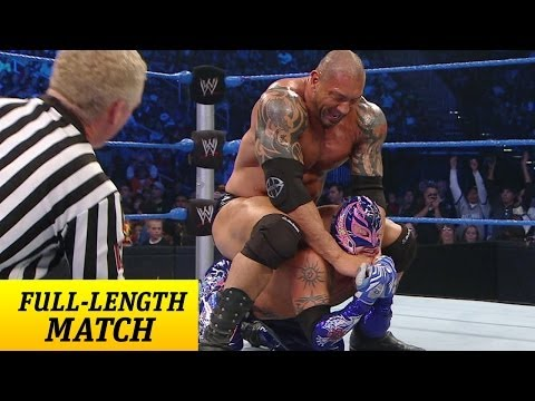 Full-length Match - Smackdown - Rey Mysterio Vs. Batista - Street Fight video