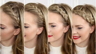 Four Headband Braids | Missy Sue