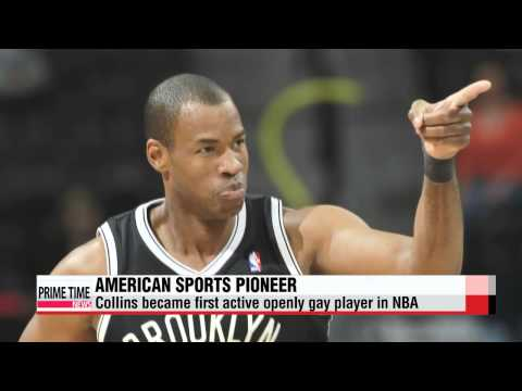 Jason Collins, the NBA′s first openly gay player, retires   첫 커밍아웃 선수 제이슨 콜린스, N