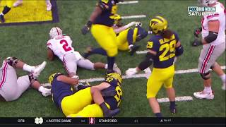 Michigan Defense Untied And Took Off J.K. Dobbins' Shoe To Slow Him Down