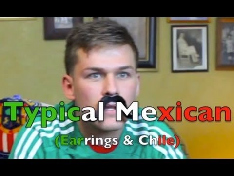 Typical Mexican (Earrings & Chile)