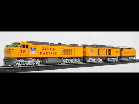 Overland Models Union Pacific 'Big Blow' Turbine #30 in HO -  Take 2