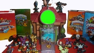 Skylanders Kaos Review Trap Team Superchargers Giants Spyro Undead and Dark Element