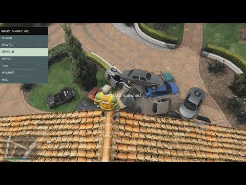 GTA 5 PC MOD - Script Hook V e Native Trainer, Incrível!!! (GTA V PC Mod - Como Baixar e Instalar)