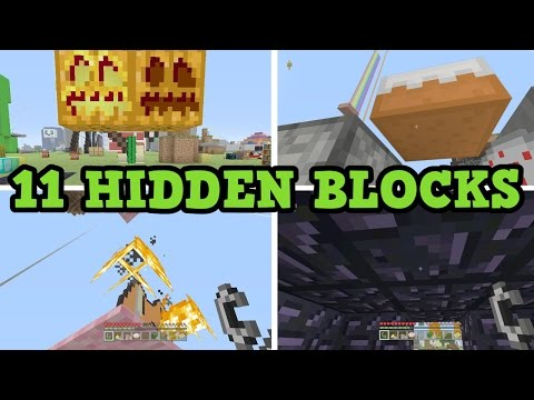 Minecraft - 11 Hidden Textures You Can't Normally See