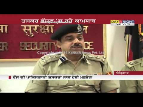 BSF encounter with Pakistani smugglers | 4 kg heroin, pistol recovered