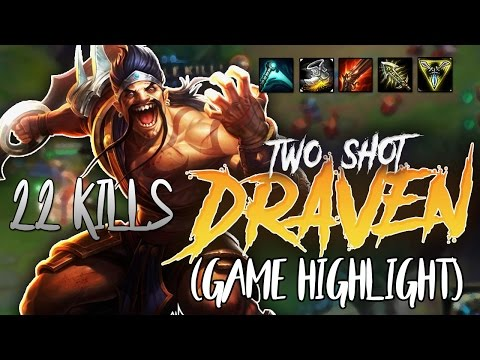 Gosu - 22 KILLS TWO SHOT DRAVEN (GAME HIGHLIGHT)