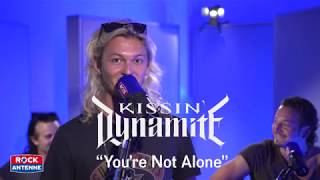 Kissin' Dynamite - YOU'RE NOT ALONE - Unplugged in den ROCK ANTENNE STUDIOS