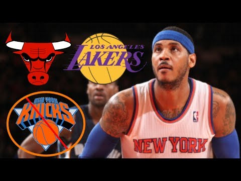 Will Carmelo Anthony Leave Knicks for Lakers, Clippers or Bulls?