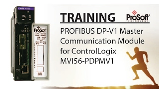 PROFIBUS DP-V1 Master Communication Module for ControlLogix - MVI56-PDPMV1