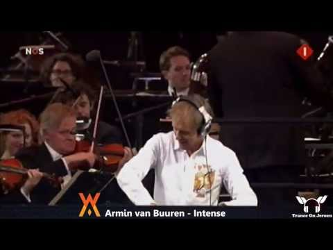 Armin van Buuren - INTENSE party with new Dutch King Willem Alexander &amp;amp; Queen Maxima