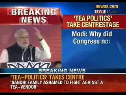 Narendra Modi 'Tea Wala', addresses BJP's National Meet - NewsX