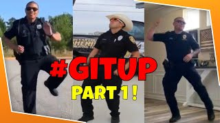 Download lagu 👮These Police Officers KILL the GIT UP Dance Challenge! #GitUpChallenge