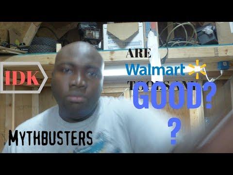 Walmart tool reviews- Mythbusters